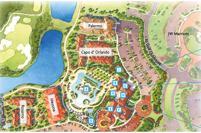 Jw Marriott Orlando Map VacationCandy :: Sweet Luxury Resort Vacation Rentals at a Discount