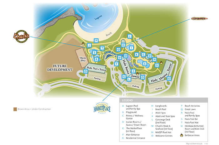 marriott kauai beach resort map Vacationcandy Sweet Luxury Resort Vacation Rentals At A Discount marriott kauai beach resort map